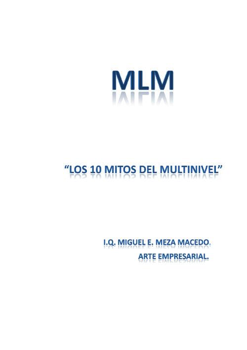 Los 10 mitos del Multinivel