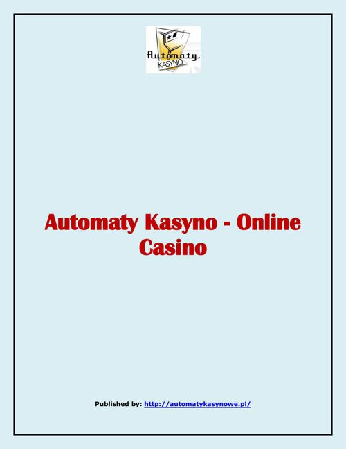 Automaty Kasyno- Online Casino