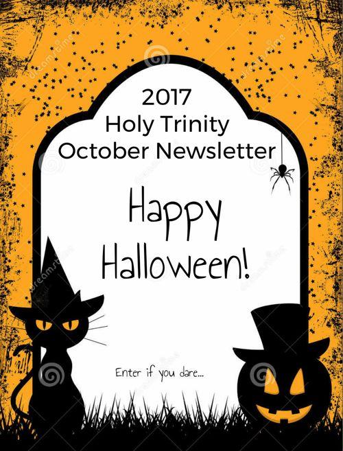 HT October Newsletter 2017