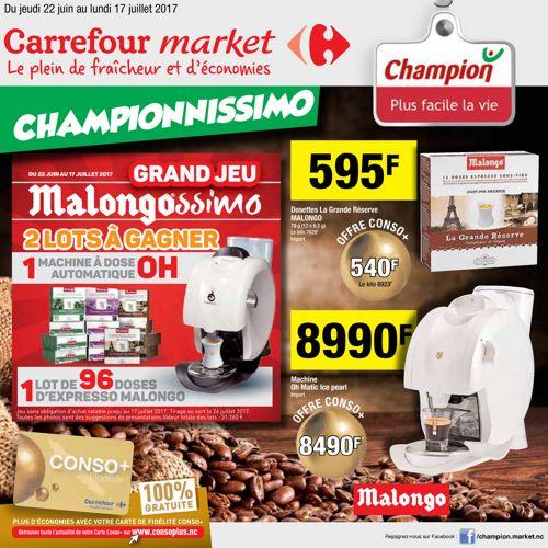 Catalogue Champion - Du 22 juin au 17 juillet 2017