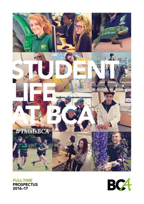 BCA Full-time Prospectus 2016–17