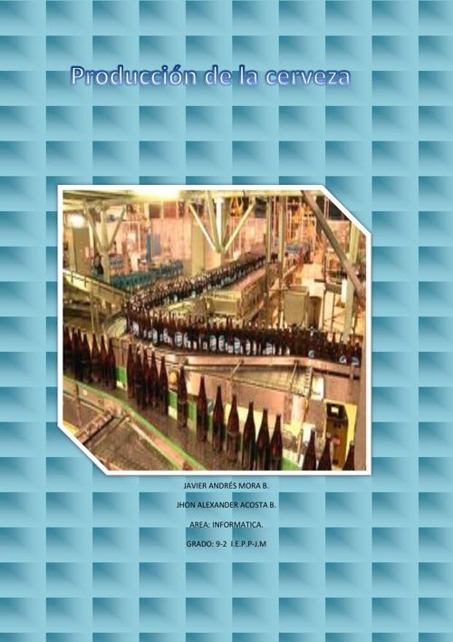 Procesos de Produccion-cerveza