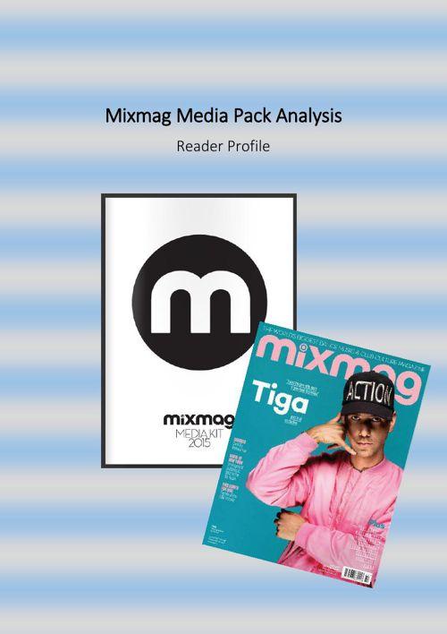 Mixmag Media Pack Analysis