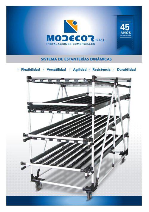 SISTEMA DE ESTANTERIAS DINAMICAS MODECOR SRL