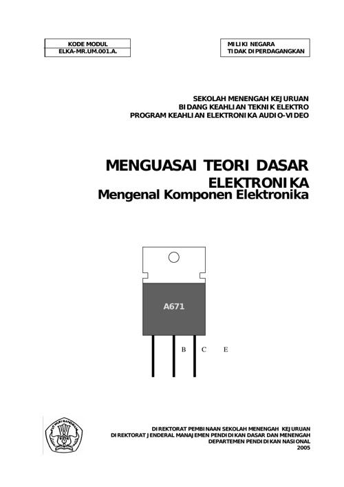 Teori Elekronika Dasar