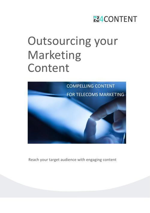 Outsource your Content Marketing (Med Res)