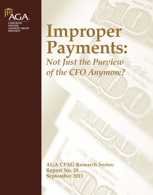 Imprope rPayments Not Just CFO Sept 2011