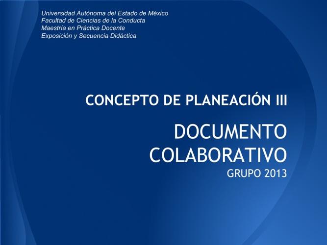 COLABORATIVO III