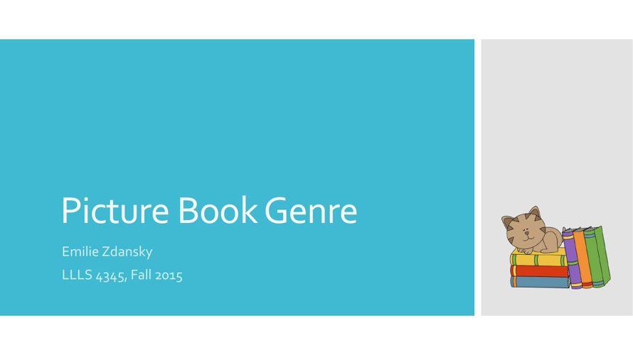 Picture Book Genre Project