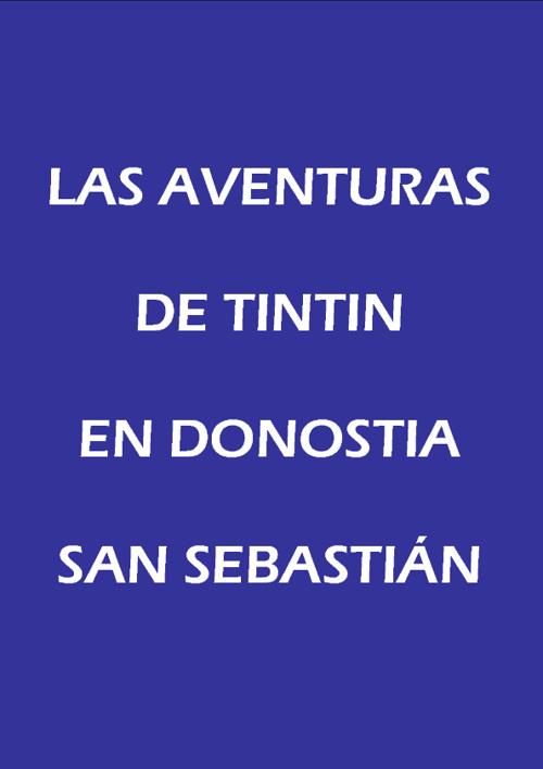 Tintin in San Sebastian