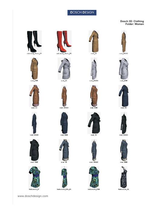 10_DOSCH 3D - Clothing.ManWoman