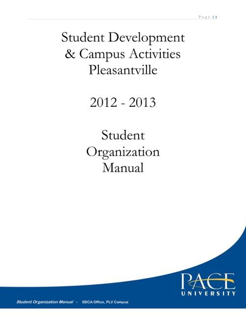 Student Organization Manual
