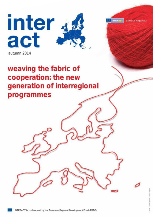 INTERACT Newsletter Autumn 2014_weaving the fabric of cooperatio