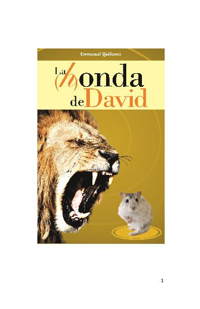 LA (H) ONDA DE DAVID