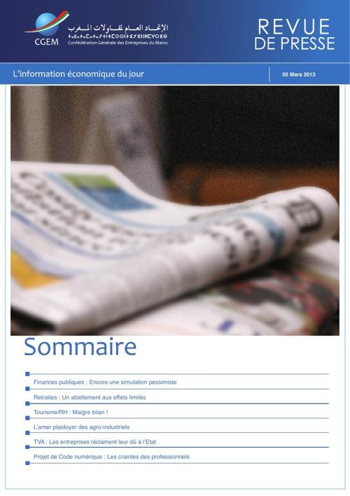 CGEM - Revue de Presse