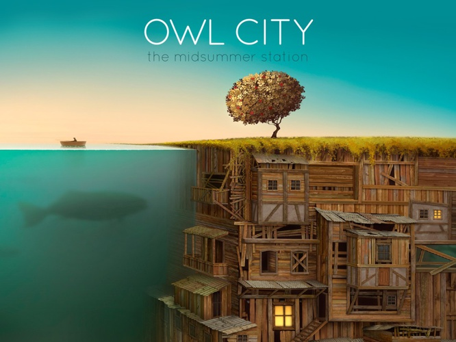 DIGITAL ALBUM ART- THE MIDSUMMER STATION(OWL CITY)