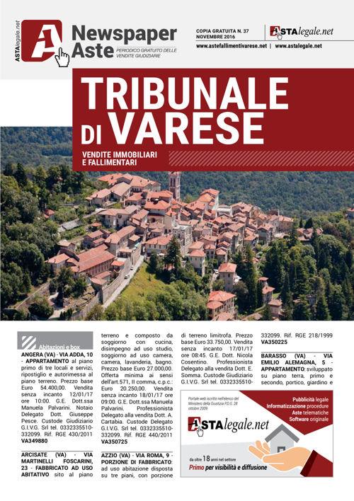 Varese novembre 2016