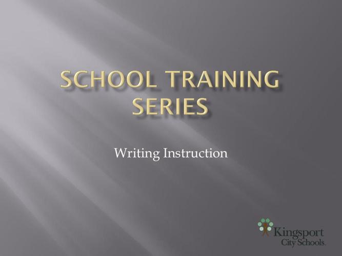 School Training Series- 1-2