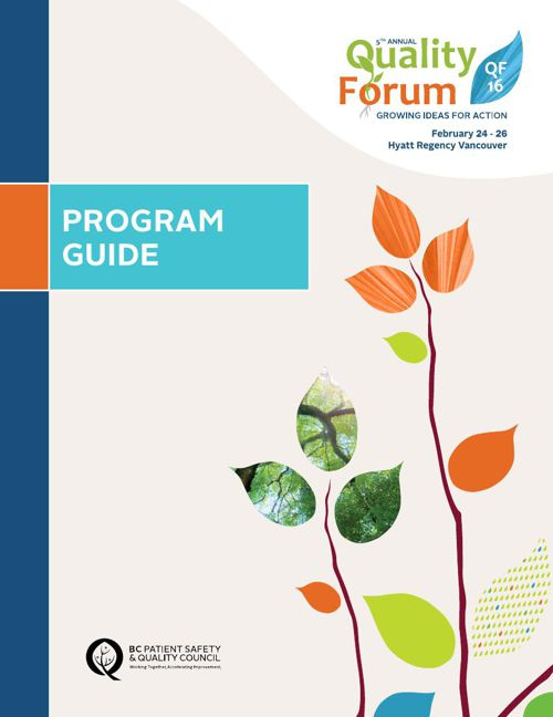 Quality Forum 2016 Program Guide