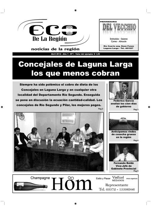 Eco de la Región (Abril 2012)