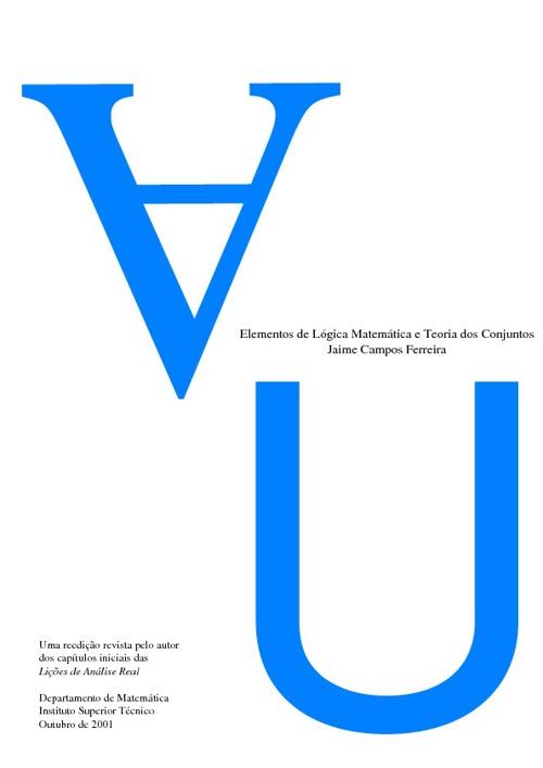 Elementos de lógica matemática e Teoria dos Conjuntos
