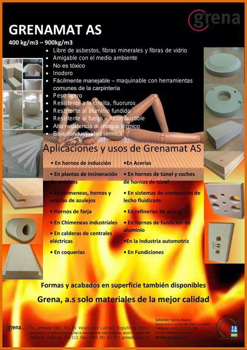 Placa aislante y de contacto directo Grenama AS