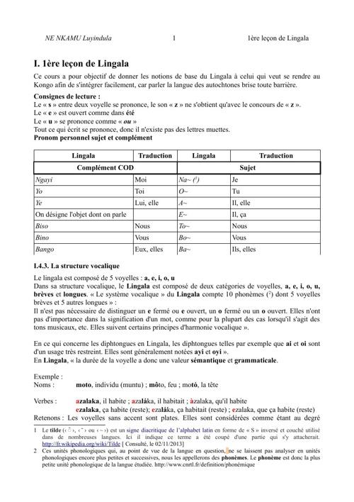 Copy (2) of 1ère LEÇON DE LINGALA