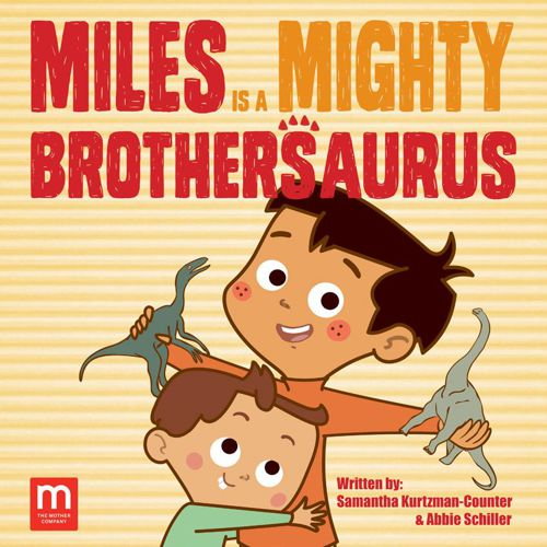 Miles is a Mighty Brothersaurus