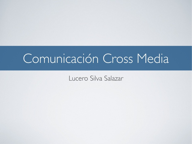 Comunicación Cross Media - Blizzard
