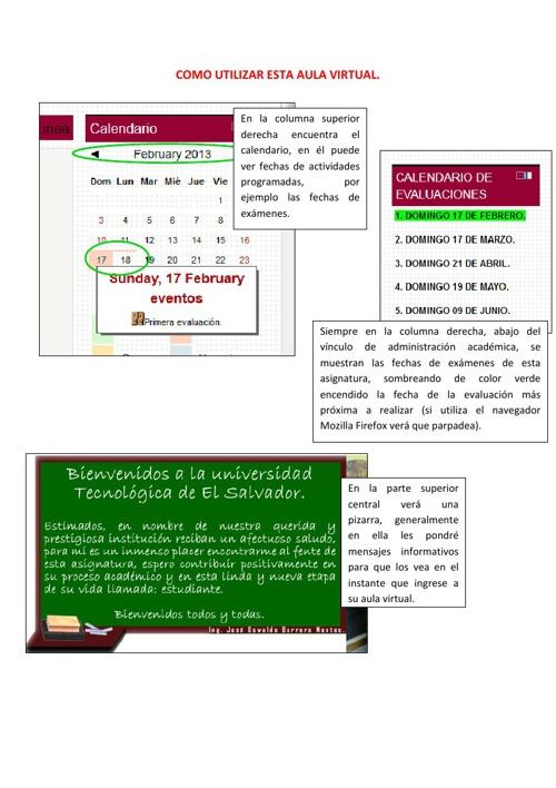 Como usar el aula virtual de Programación Orientada a Objetos