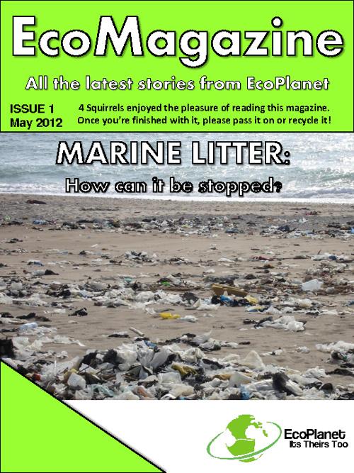 EcoMagazine #1 - Marine Litter