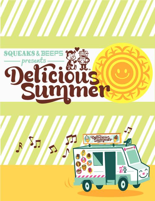 Squeaks & Beeps Delicious Summer Lookbook