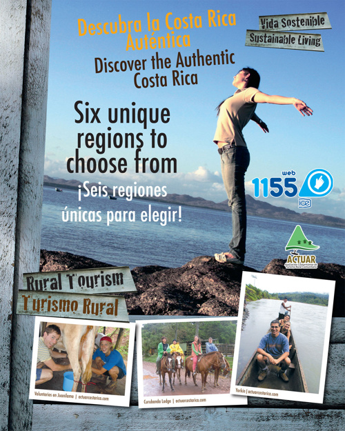 ICE 1155. Sección Turística de Costa Rica