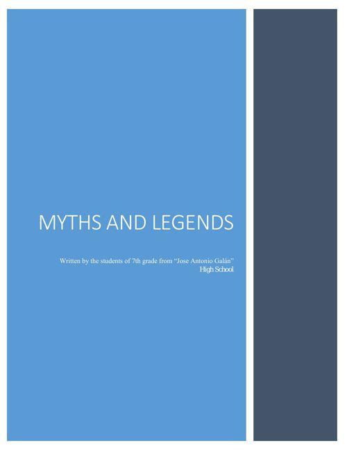 COLOMBIAN MYTHS AND LEGENDS