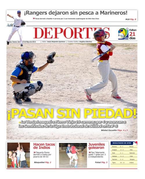 DEPORTES 22 MAYO 2014