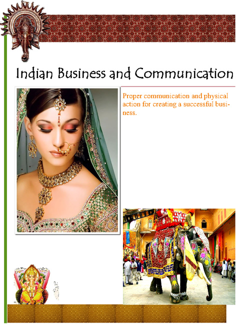 Indian Business and Communication