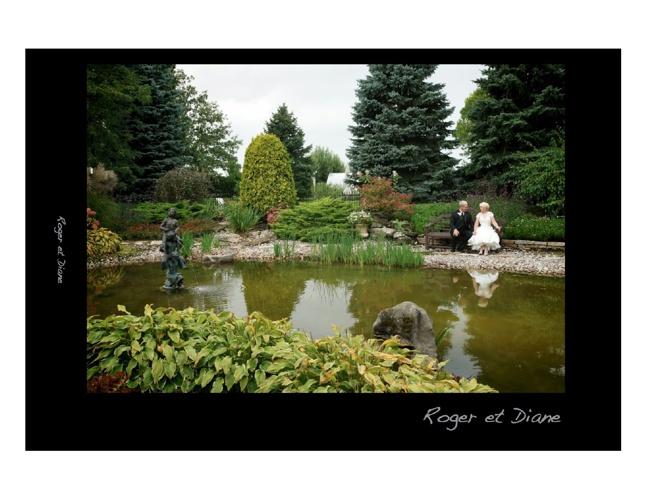 Livre photo du mariage de Roger et Diane
