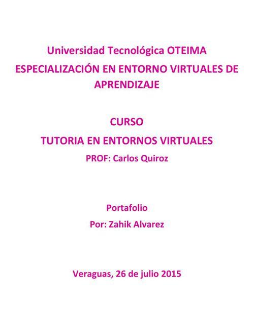 A - inicio - Universidad Tecnológica OTEIMA