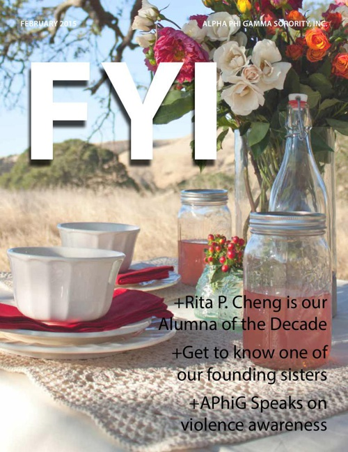 The F.Y.I. Newsletter - February 2015