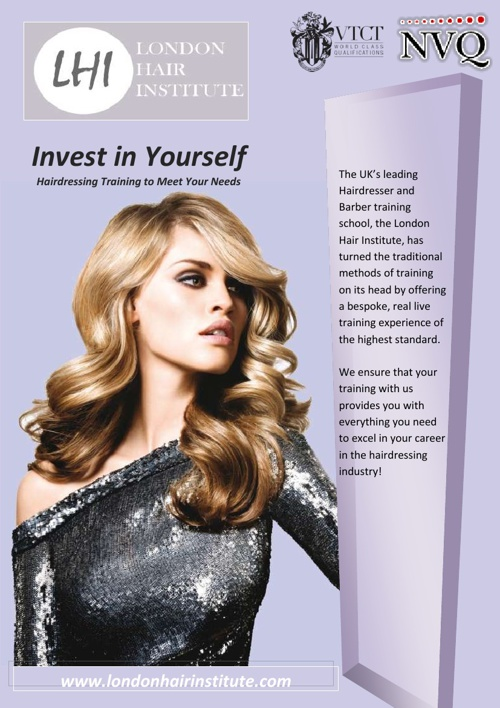 Hairdressing Brochure- National Beauty Institute