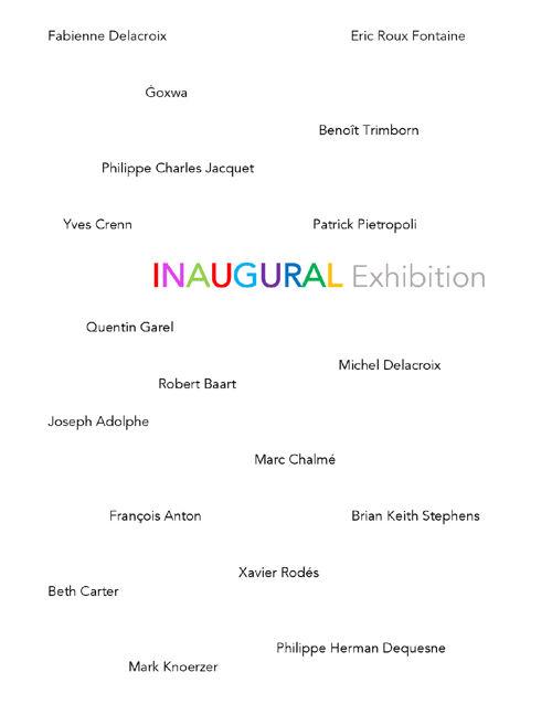 Inaugural Catalog