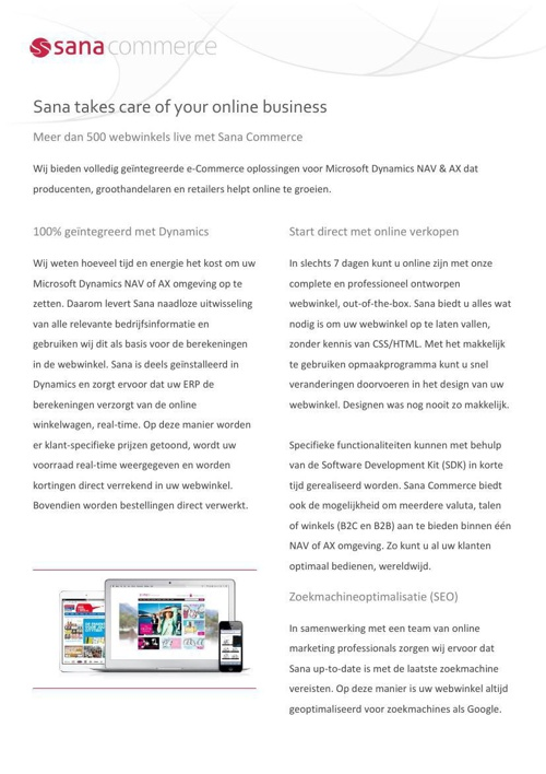 Sana Commerce 8.3 - Factsheet NL (A4) (2)