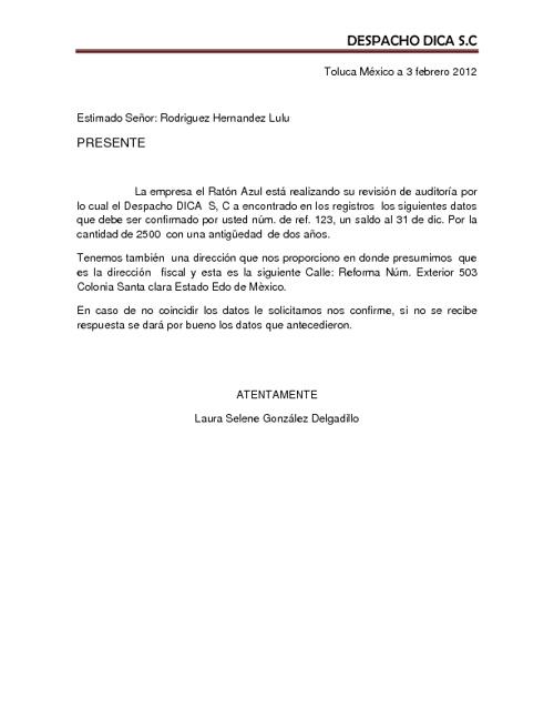 Ejercicio de comb. de correspondencias Laura Selene