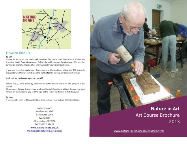 Art Course brochure 2013