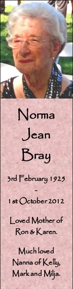 Norma Bray Sample 2