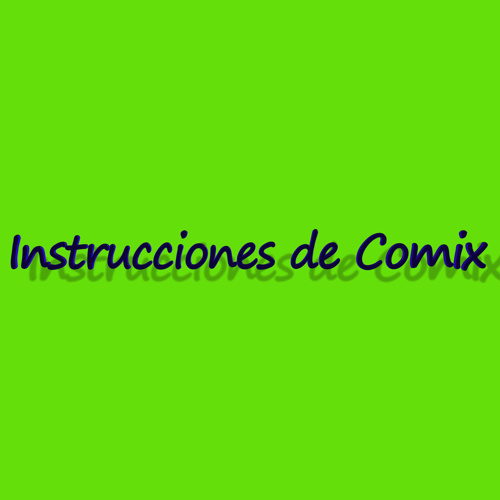 Libro de intrucciones de Comix