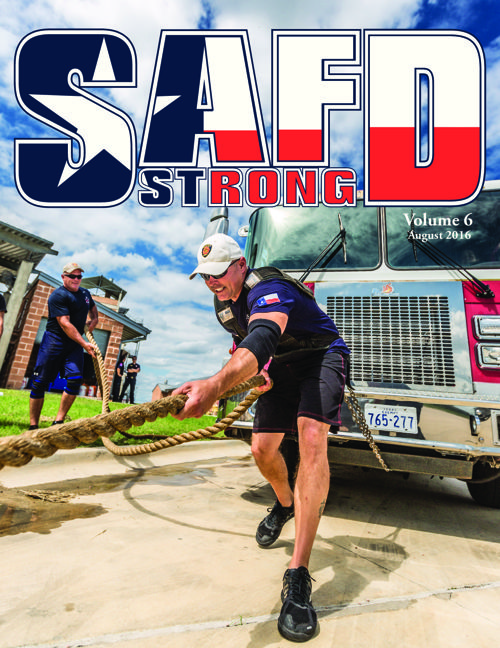 SAFD Strong: August 2016
