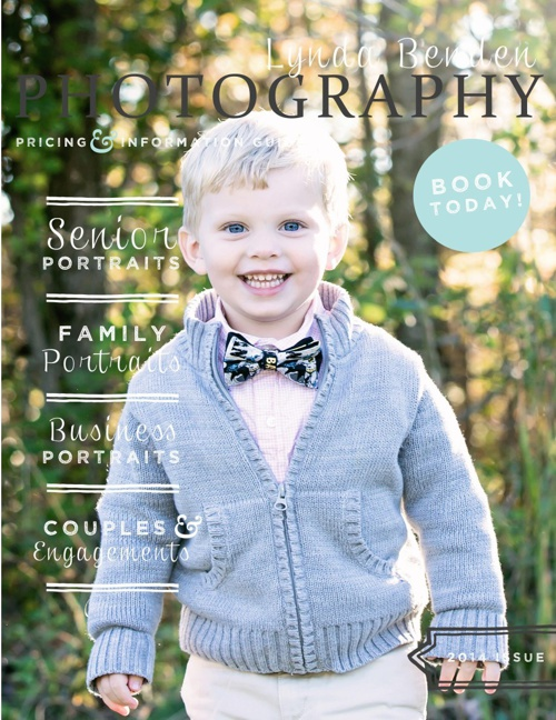 Family Portraits Session Guide