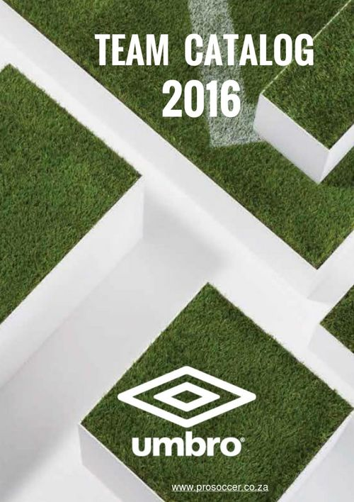 Umbro Team Kit Catalog