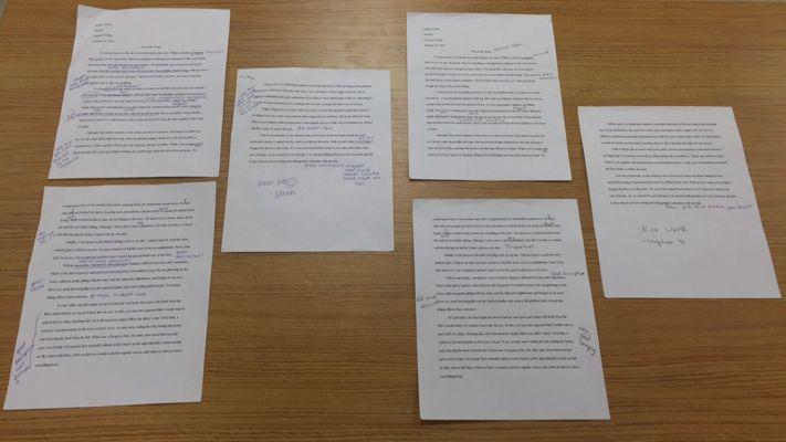 Memoir Peer Edits